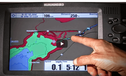 Walleye Seasonal Location GPS Mapping