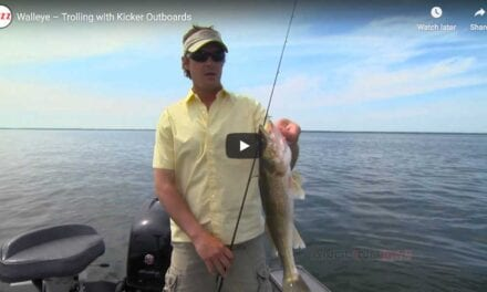 Walleye – Trolling with Kicker Outboards