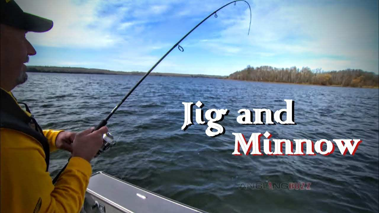 Tip Jigs with Minnows for Fall Walleye Success