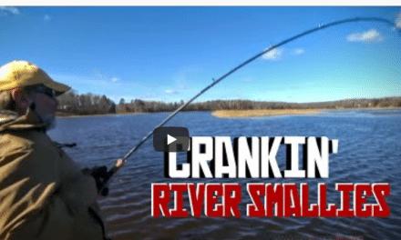 Crankin' River Smallmouths in Mid Fall