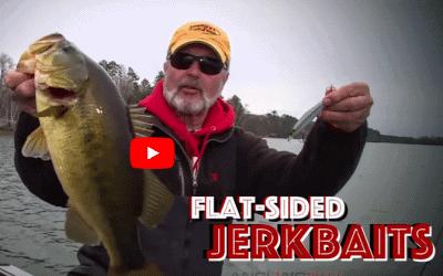 Flat-Sided Jerkbaits for Fall Largemouth Bass
