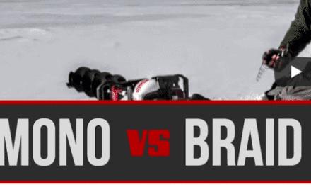 Mono vs. Braid for Ice Fishing