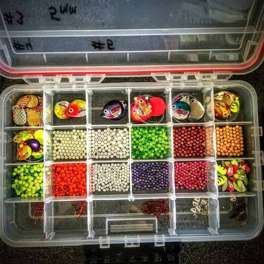 Spinner Rigging Tackle Box