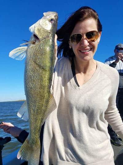 Devils Lake (ND) Fishing Report – Pete Harsh
