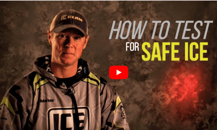 How to Test for Safe Ice During the Early Ice Season