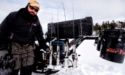 Rigging Snowmobiles for Ice Fishing