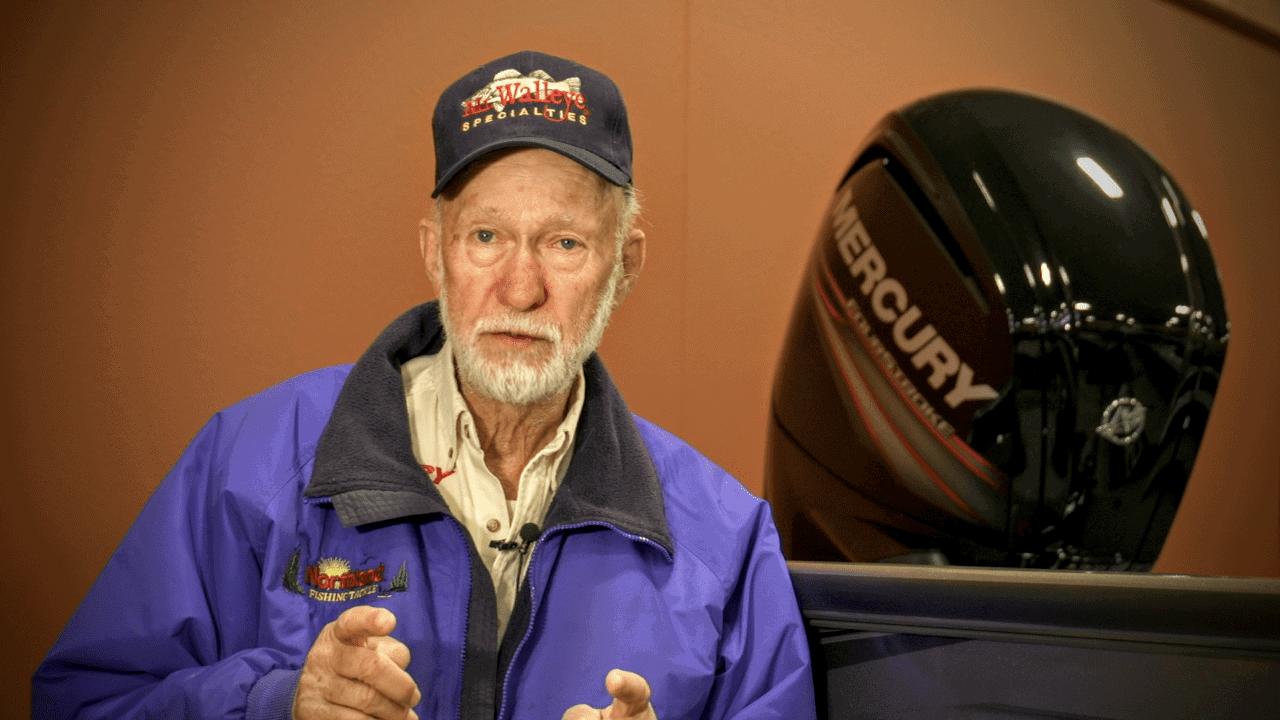 "Tips for Minnesota Walleye Opener with Gary Roach ""Mr. Walleye"""