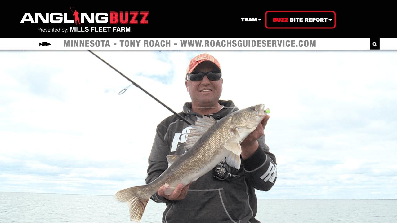 Mille Lacs Lake (MN) Fishing Report – Tony Roach