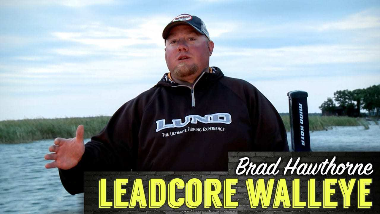 Leadcore Trolling Walleyes