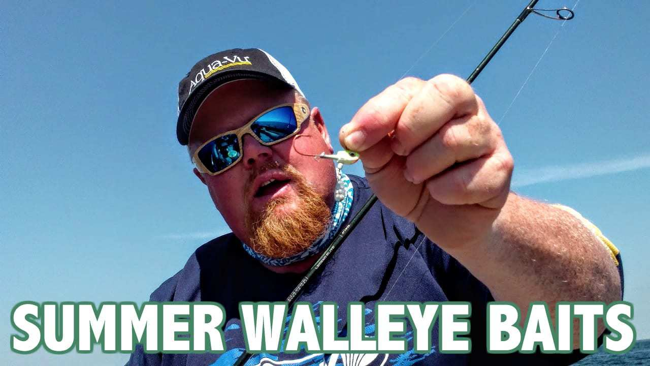 Brian Brosdahl's Mid-Summer Walleye Arsenal