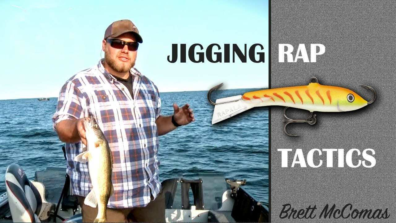 Jigging Rap Tactics — Targeting Big Walleyes