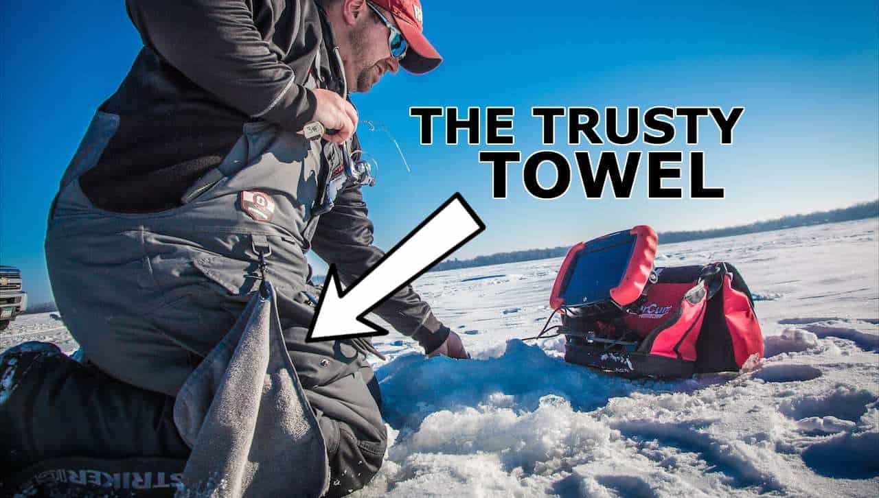 Ice Fishing Towel