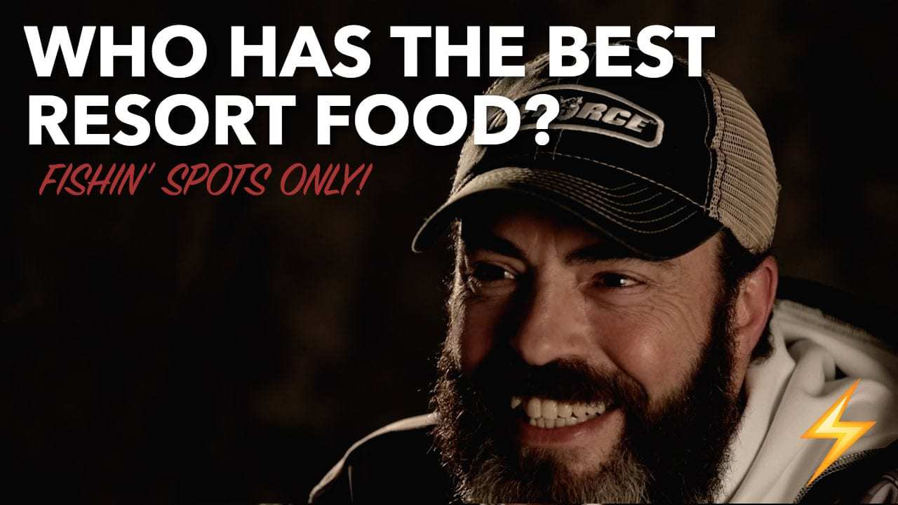 Best Resort Food for ANGLERS