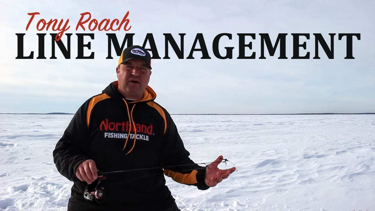 Ice Fishing Line: A Few Quick Line Management Tips