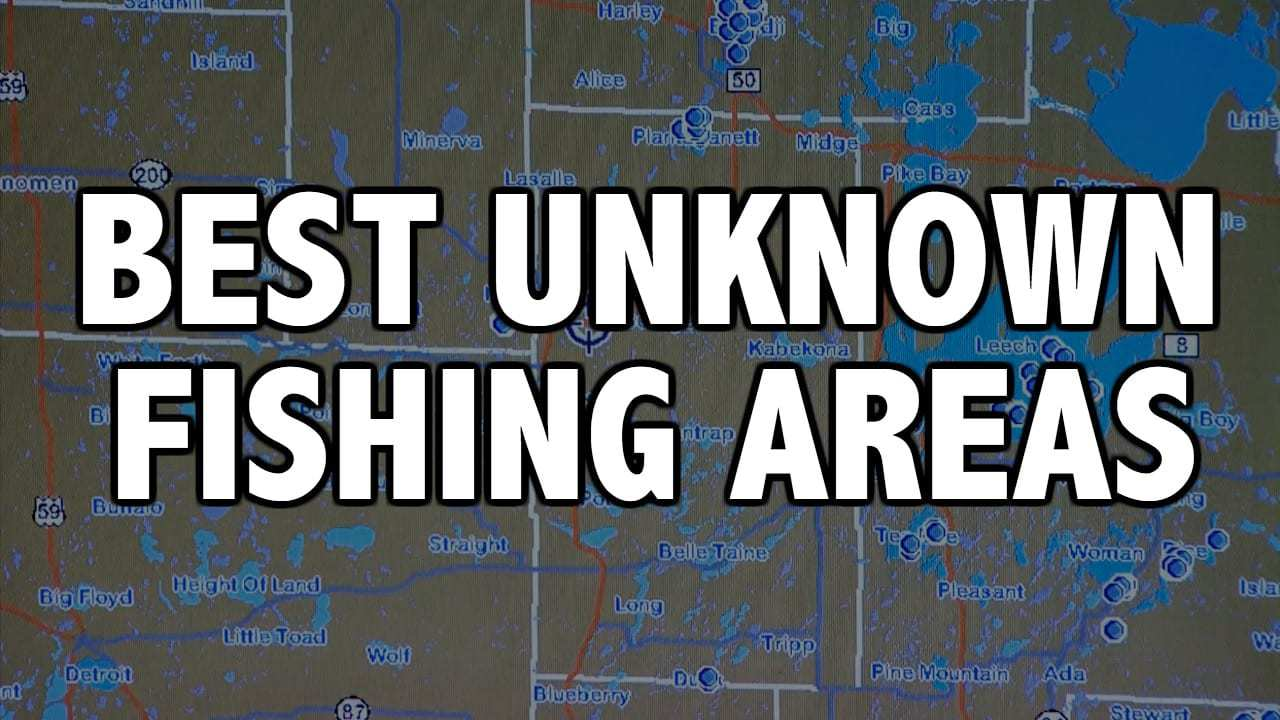 Best UNCHARTED FishinG Areas (Upper Midwest)