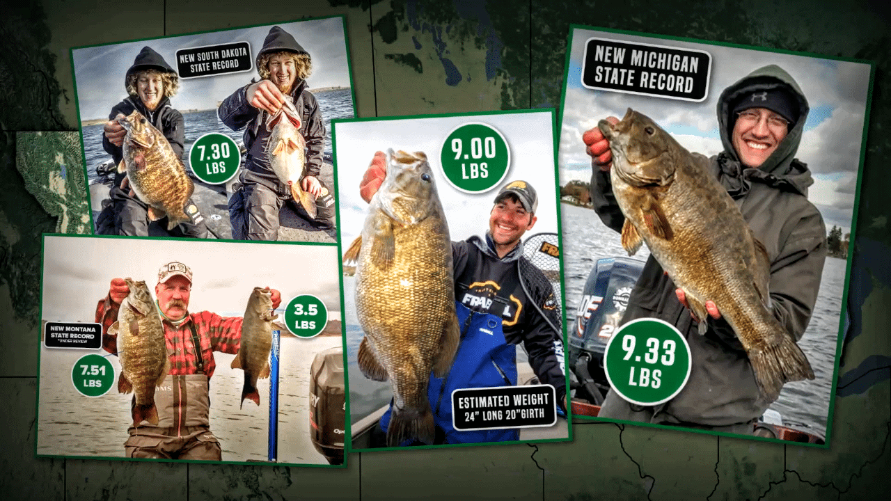 These Spots ROCK for Stellar Smallmouth Fishing