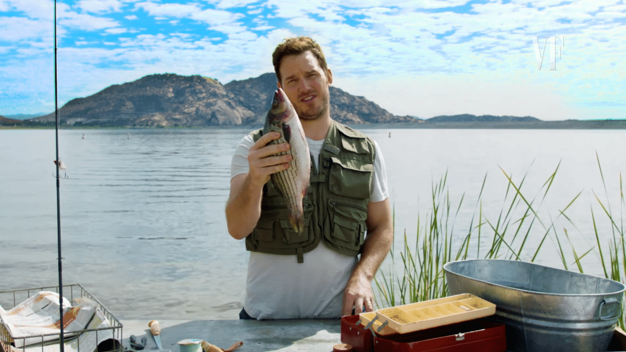 "Hilarious Fish Filleting ""Tip"" with Chris Pratt"