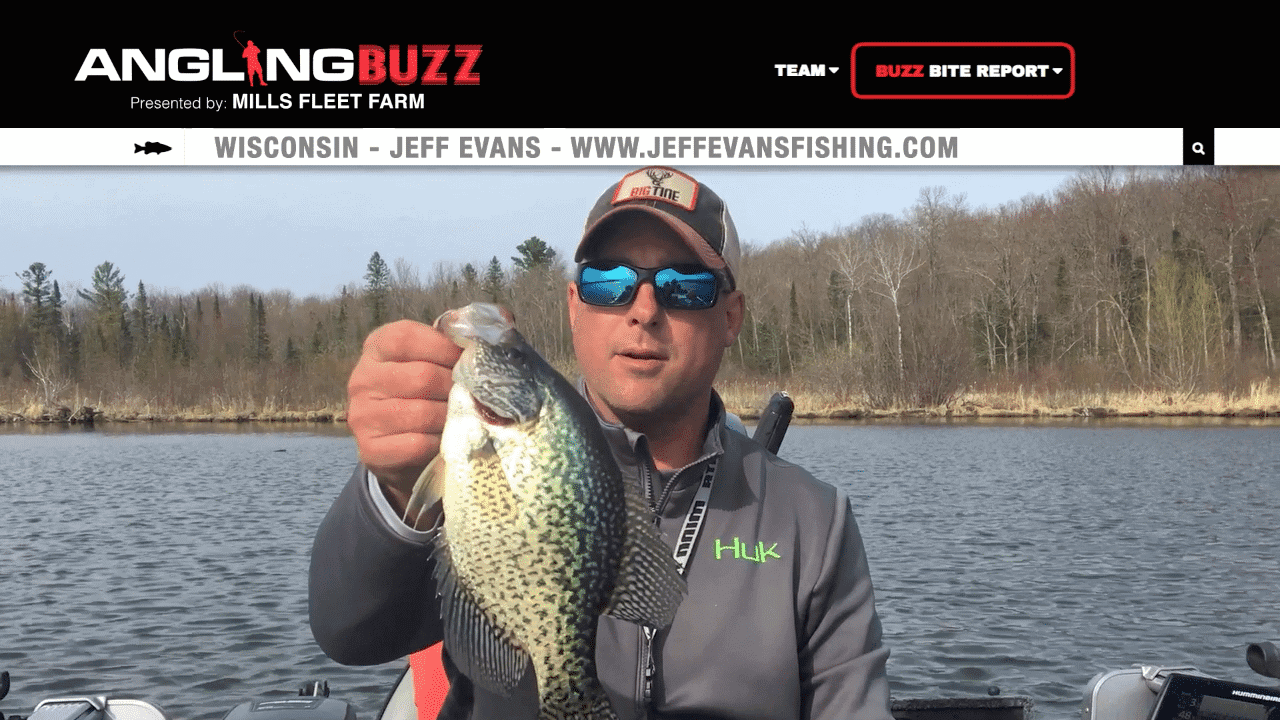 Northern Wisconsin Fishing Report – Jeff Evans (VIDEO)