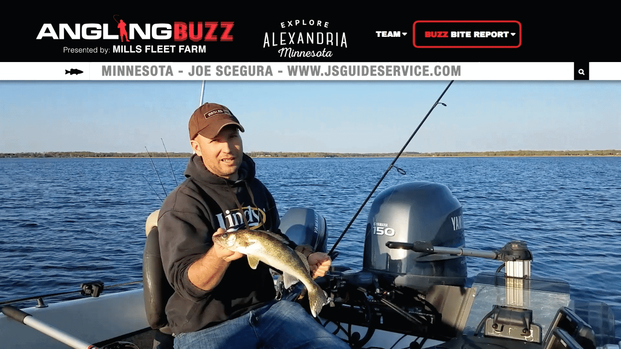 Alexandria Area (MN) Fishing Report – Joe Scegura