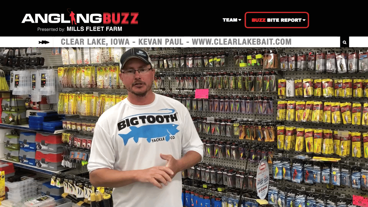 Clear Lake (IA) Fishing Report – Kevan Paul