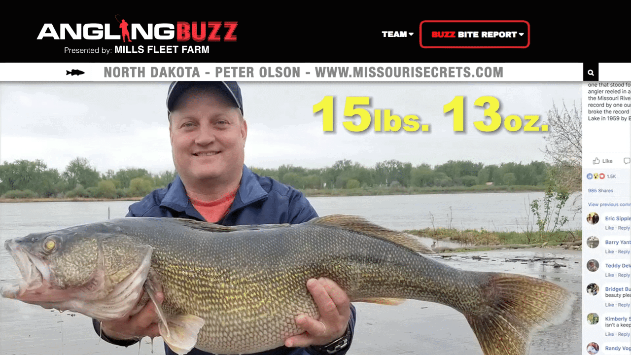 North Dakota Fishing Report – Peter Olson
