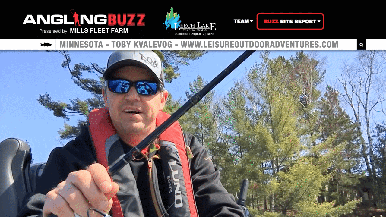 Leech Lake (MN) Fishing Report – Toby Kvalevog