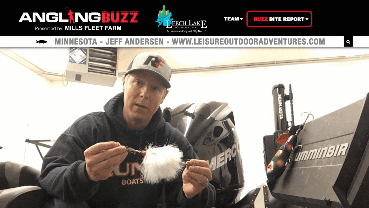 Leech Lake (MN) Fishing Report – Jeff Andersen