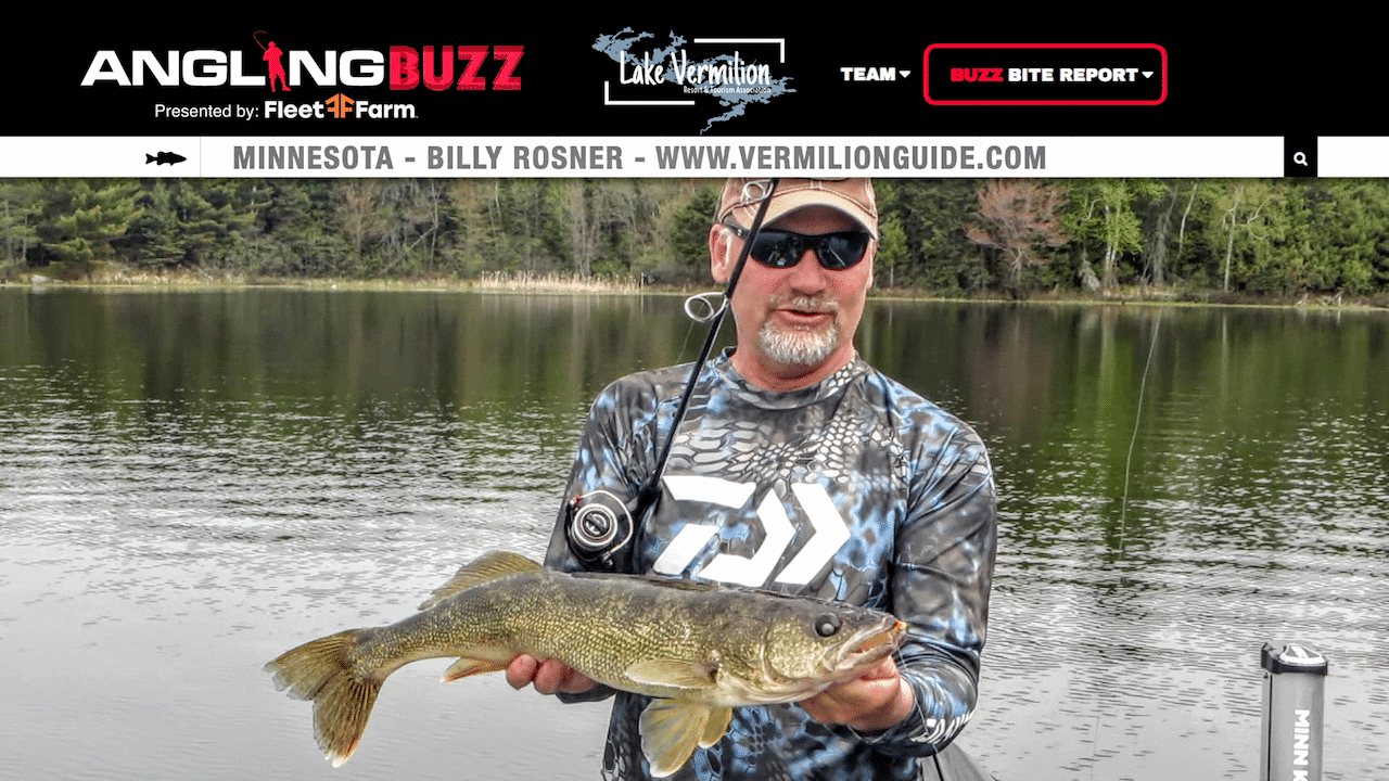 Lake Vermilion (MN) Fishing Report – Billy Rosner