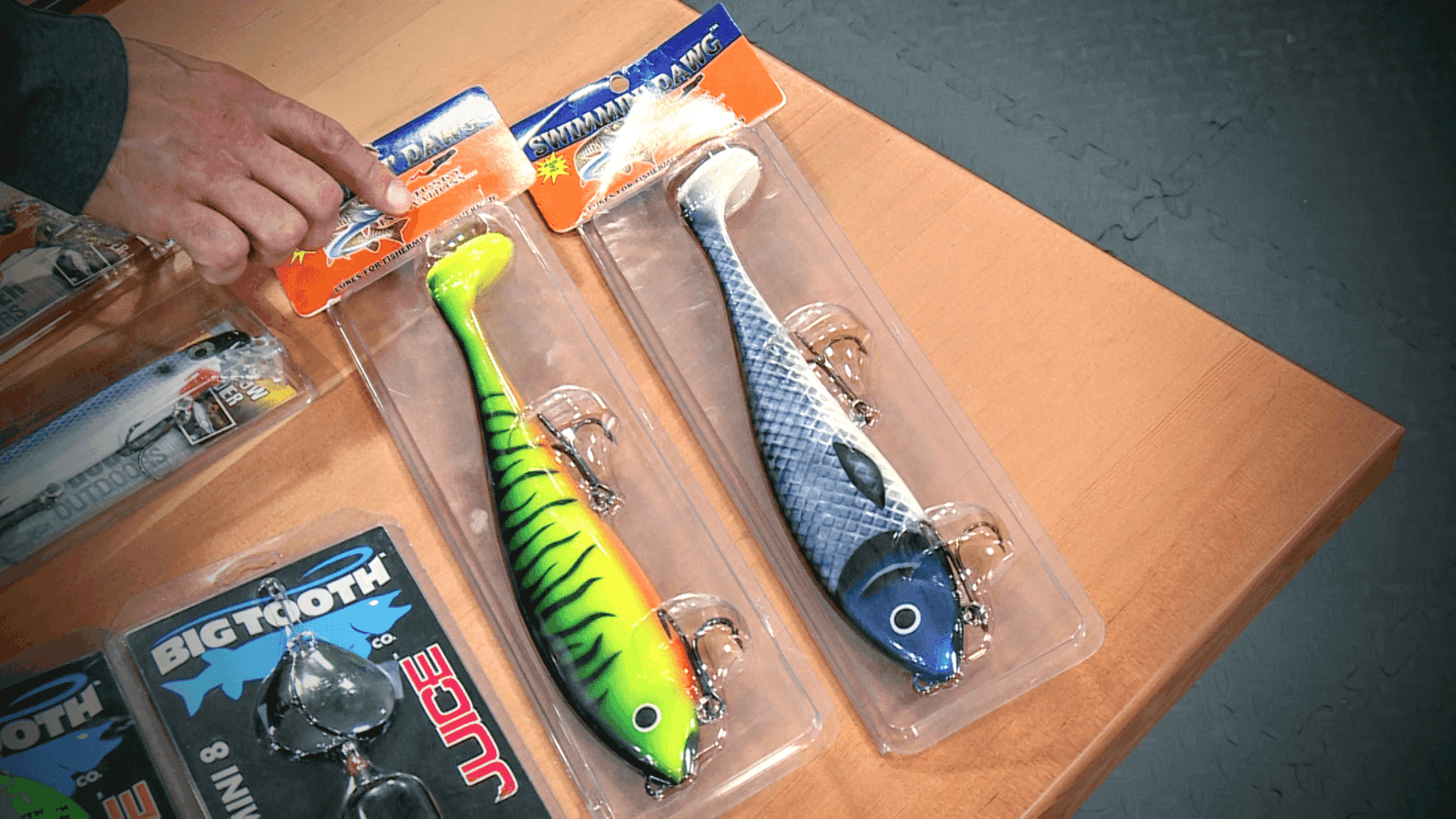 Musky Fishing Lures (Topwater, Blades, Swimbaits, Cranks, etc.)