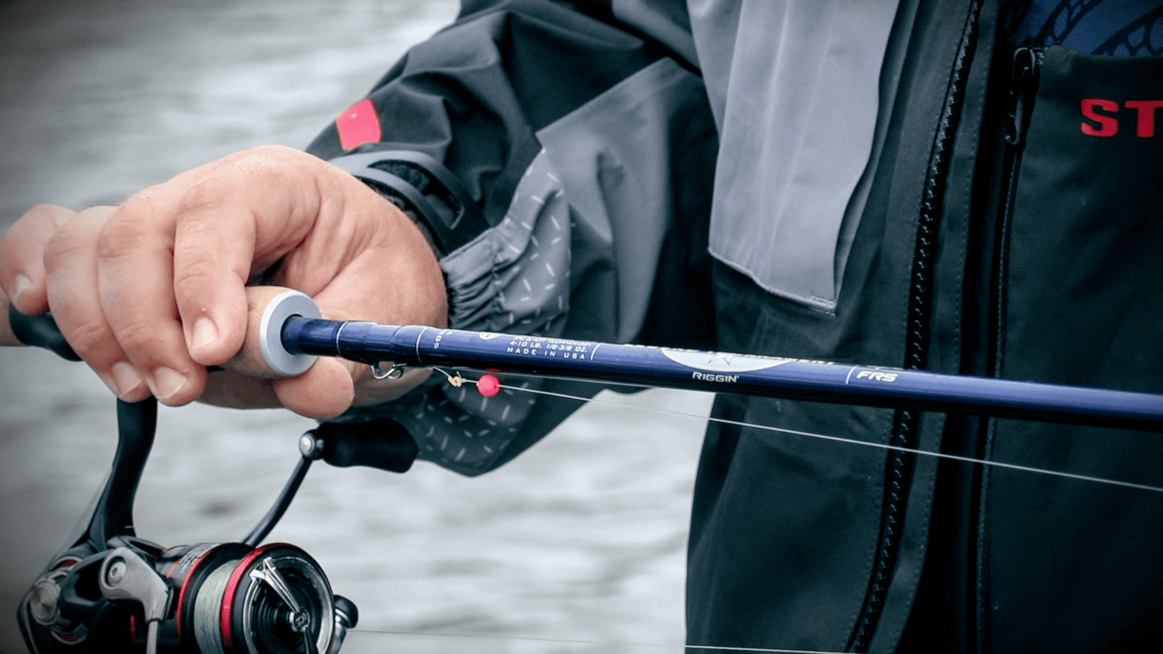 THE RIGHT FISHING ROD AND REEL FOR THE PRESENTATION