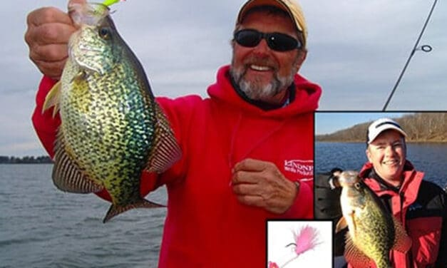 Deep Water Crappies in Fall