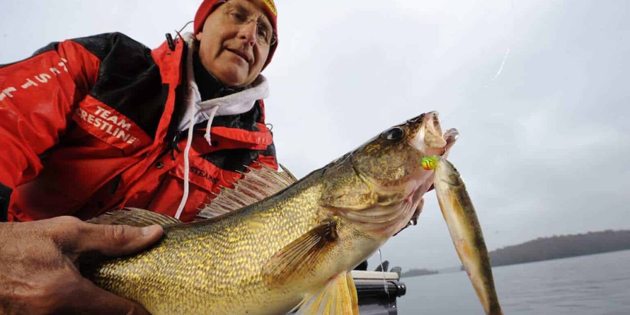 Slip Bobber Fishing Walleye With Live Bait