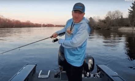 Wolf River (WI) Fishing Report — Troy Peterson