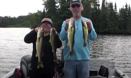 Lake Vermilion Weed Walleye Fishing Report