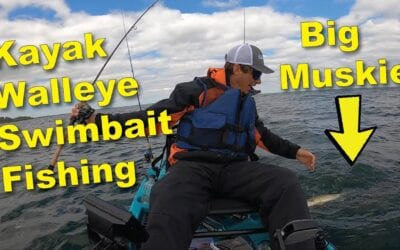 Kayak Fishing for Walleyes in Minnesota