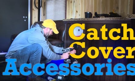Mounting Catch Cover Accessories in the Yetti