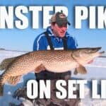 Monster Northern Pike on Setlines